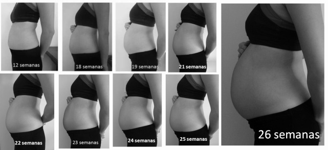 Fotos de barriga de gravida de um mes 33
